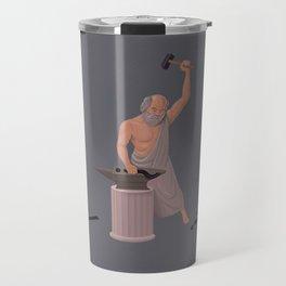 Socrates :The Doubt Maker. Travel Mug