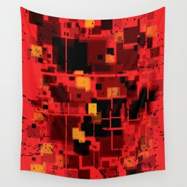 Abstract Composition #4 Wall Tapestry