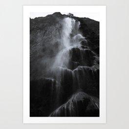 Cascadas Art Print