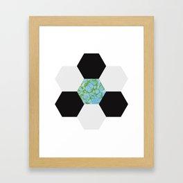 Hex of Life Framed Art Print