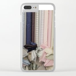 Bolt-Ribbon Dance Clear iPhone Case