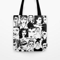 M faces Tote Bag