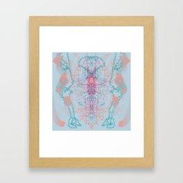 Winter Dreaming Framed Art Print
