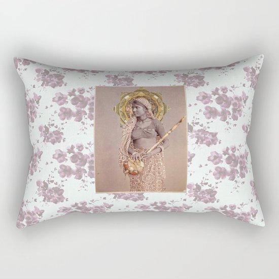 Woman from Bengal Rectangular Pillow