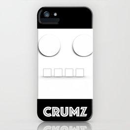CRUMZ - Silly Robot - Bad Robot iPhone Case