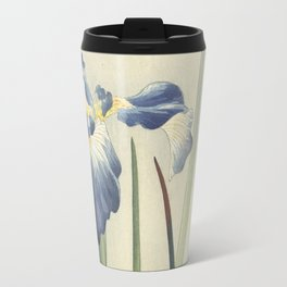 Ohara Koson, Iris Woodblock Print Travel Mug