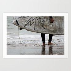 Surfboard 2 Art Print