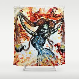 Faceless Libra Shower Curtain