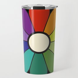 James Ward's Chromatic Circle (interpretation) Travel Mug