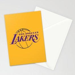 LA LAKERS LOGO Stationery Cards