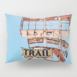 Vintage Neon Sign - The Spanish Trail -  Tucson Pillow Sham