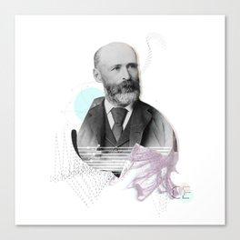 Nameless man Canvas Print