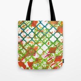Lattice Tote Bag