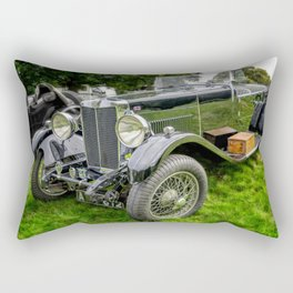 Classic Britsh MG Rectangular Pillow