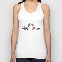 moto Tank Tops featuring Moto Mom by Risdon & Associates