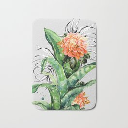 Collage of florid nature Bath Mat