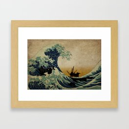 New Wave Framed Art Print