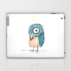Stressed out Little King Bird  Laptop & iPad Skin