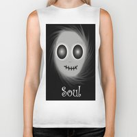 soul Biker Tanks featuring Soul by LCMedia