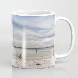 Dream beach Sea Ocean Summer Maritime Navy clouds Coffee Mug