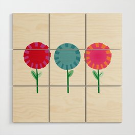 Little Maids all in a Row Wood Wall Art