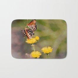 Butterfly Acrobats Bath Mat