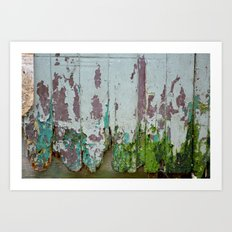 Urban decay Art Print