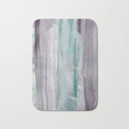 23    190907   Watercolor Abstract Painting Bath Mat