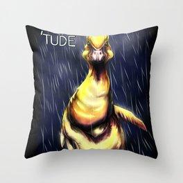 Duck 'Tude Throw Pillow