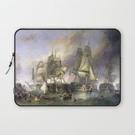 The Battle of Trafalgar Laptop Sleeve