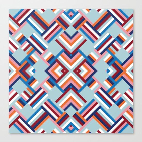 Herringbone Pattern No.2 Canvas Print