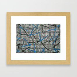 Lupers Ocipital Confusion Framed Art Print