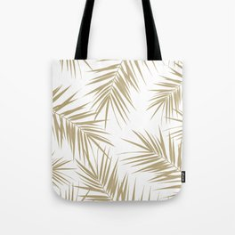 Palm Leaves Cali Finesse #2 #gold #tropical #decor #art #society6 Tote Bag