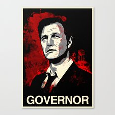 The Governor Canvas Print