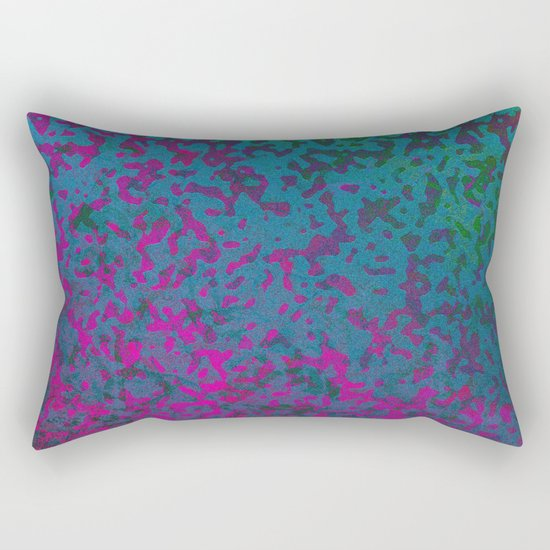 Colorful Corroded Background G296 Rectangular Pillow