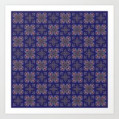 Royal [abstract pattern A] Art Print