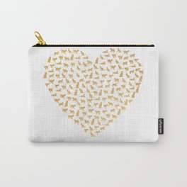 Cats Lover Heart Carry-All Pouch
