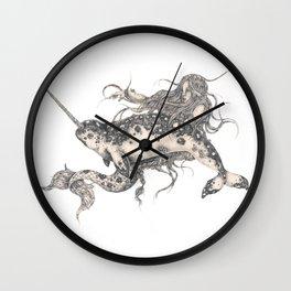 Ida & The Narwhal Wall Clock