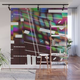 Geometric Color Wall Mural