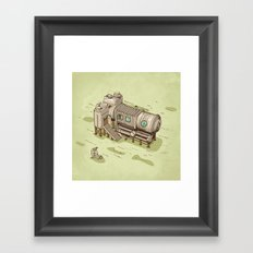 Cam Suite Framed Art Print