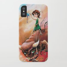 Peace That Conquered Beast iPhone X Slim Case