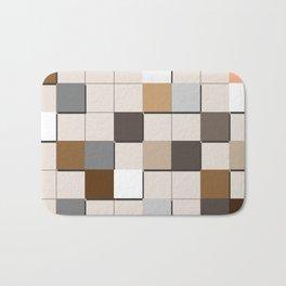 Incomplete Wall Tiles Bath Mat