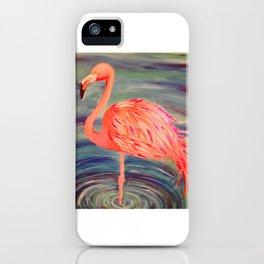 Fancy Flamingo iPhone Case
