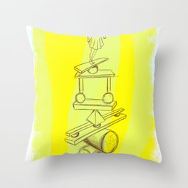 Dreaming is good for you Throw Pillow