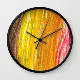 Lovely Colores Lightroom Wax Colors Wall Clock