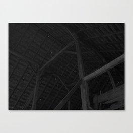 Barn Rafters Canvas Print