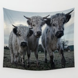 The Three Shaggy Cows Wall Tapestry