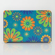 Psycho Flower Blue iPad Case