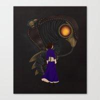 bioshock Canvas Prints featuring Bioshock Infinte by Shepaki