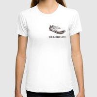 delorean T-shirts featuring Delorean by ruvaen